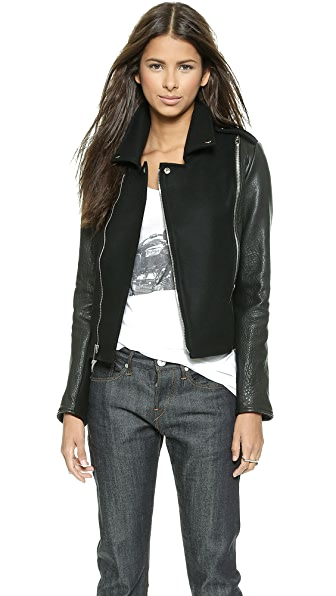10 CORSO Grato Leather Jacket