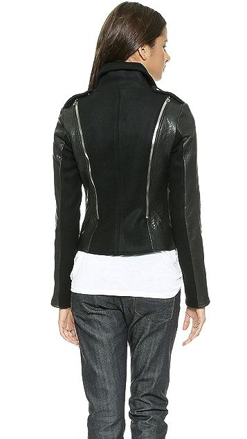 10 CORSO Grato Leather Jacket