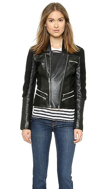 10 CORSO Porson Leather Jacket