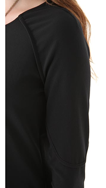 Tess Giberson Dress with Wrapped Sleeves