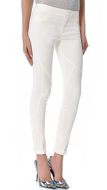 Tess Giberson Pieced Skinny Jeans