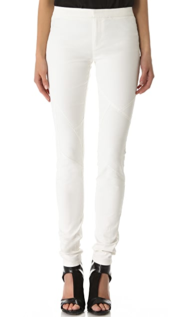Tess Giberson Coated Denim Leggings