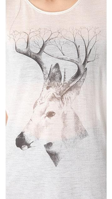 Tess Giberson Sleeveless Deer Cashmere Tank