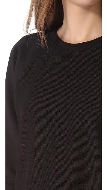 Tess Giberson Split Back Sweatshirt Dress