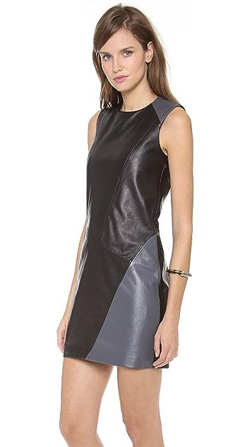 Tess Giberson Dress with Slash Detail