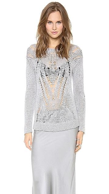 Tess Giberson Moving Open Stitch Sweater