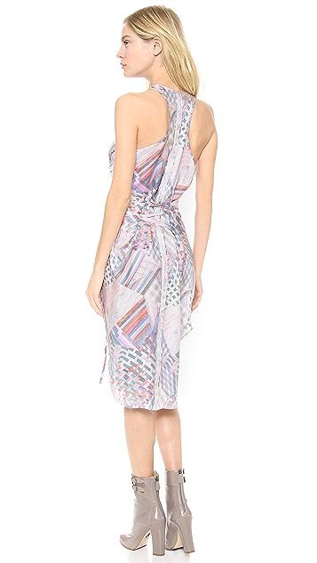 Tess Giberson Tank Dress with Ties
