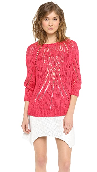 Tess Giberson Open Stitch Sweater