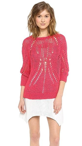 Tess Giberson Open Stitch Sweater