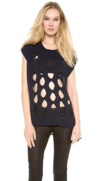 Tess Giberson Knit Tunic Top