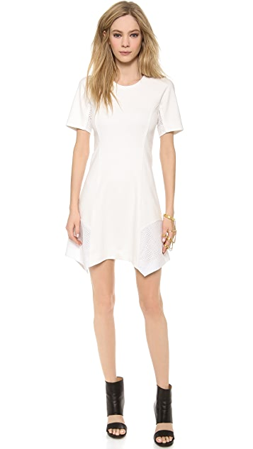 Tess Giberson Pieced Ponte Dress