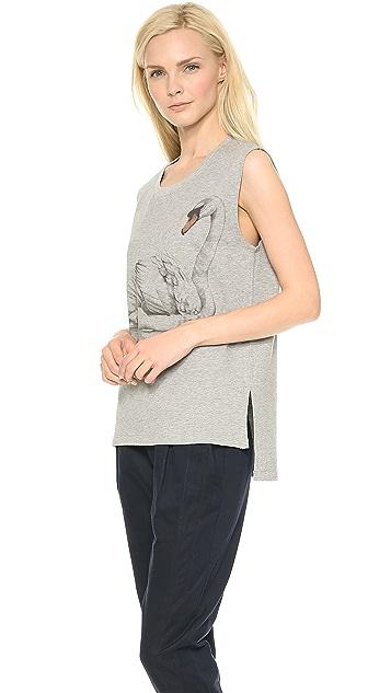 Tess Giberson Swan Print Sweatshirt