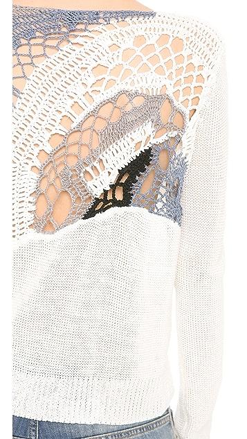 Tess Giberson Crochet Sweater