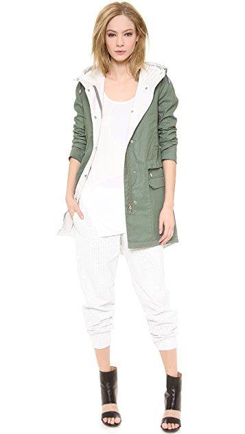 Tess Giberson Coated Cotton Anorak