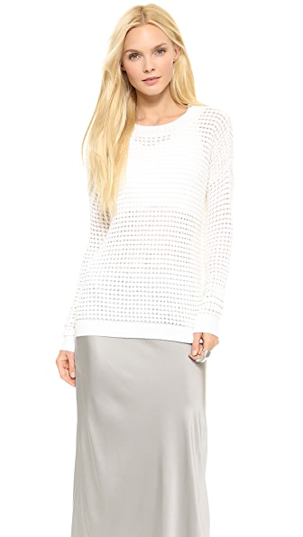 Tess Giberson Floating Waffle Stitch Sweater