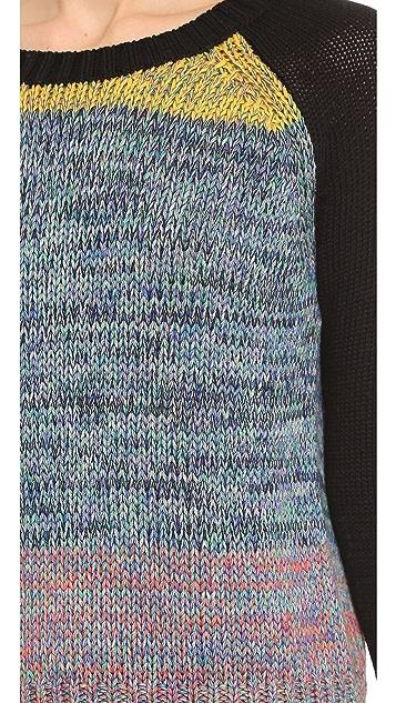 Tess Giberson Rag Rug Sweater