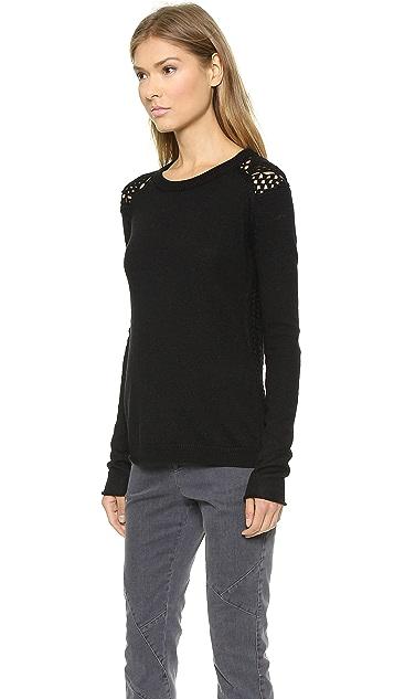 Tess Giberson Crochet Fairisle Sweater