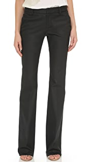 Tess Giberson Coated Flared Trouser Jeans