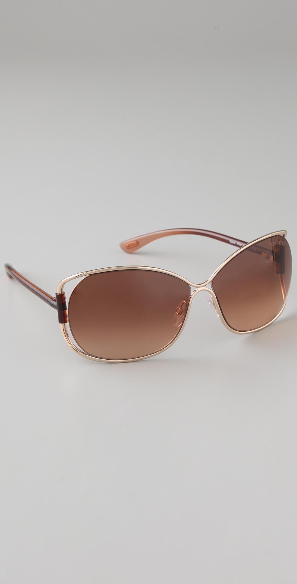 Tom Ford Eyewear Eugenia Sunglasses | SHOPBOP