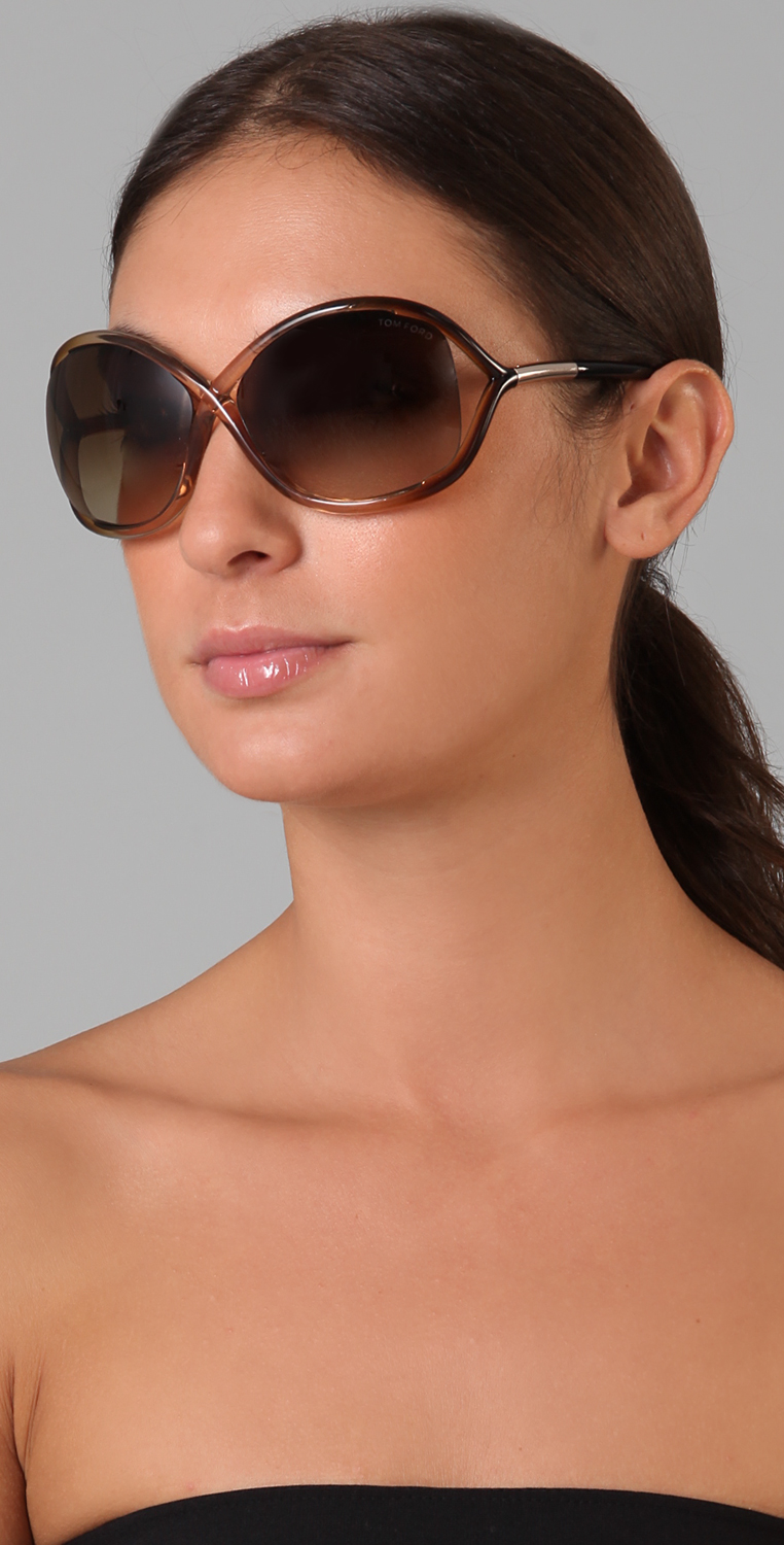 f5af9e7e1d Tom Ford Eyewear Whitney Sunglasses