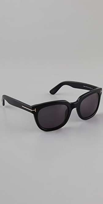 Tom Ford Eyewear Campbell Sunglasses | SHOPBOP