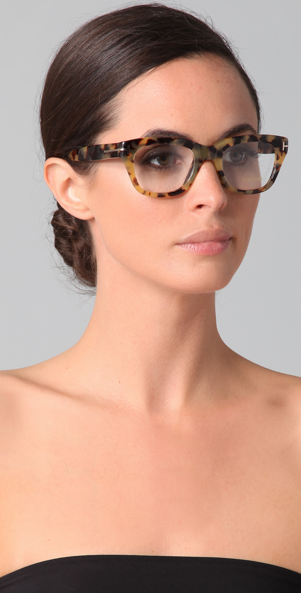 Tom Ford Eyewear Square Glasses | SHOPBOP