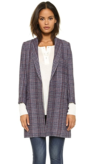 THE GREAT. The Long Undone Jacket