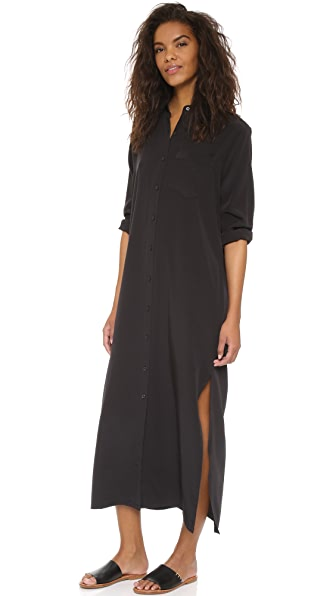 Shop THE GREAT. online and buy The Great. The Market Dress Black dresses online