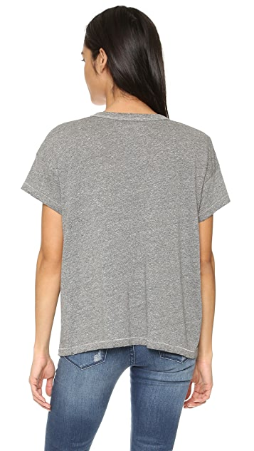 THE GREAT. The U Neck Tee