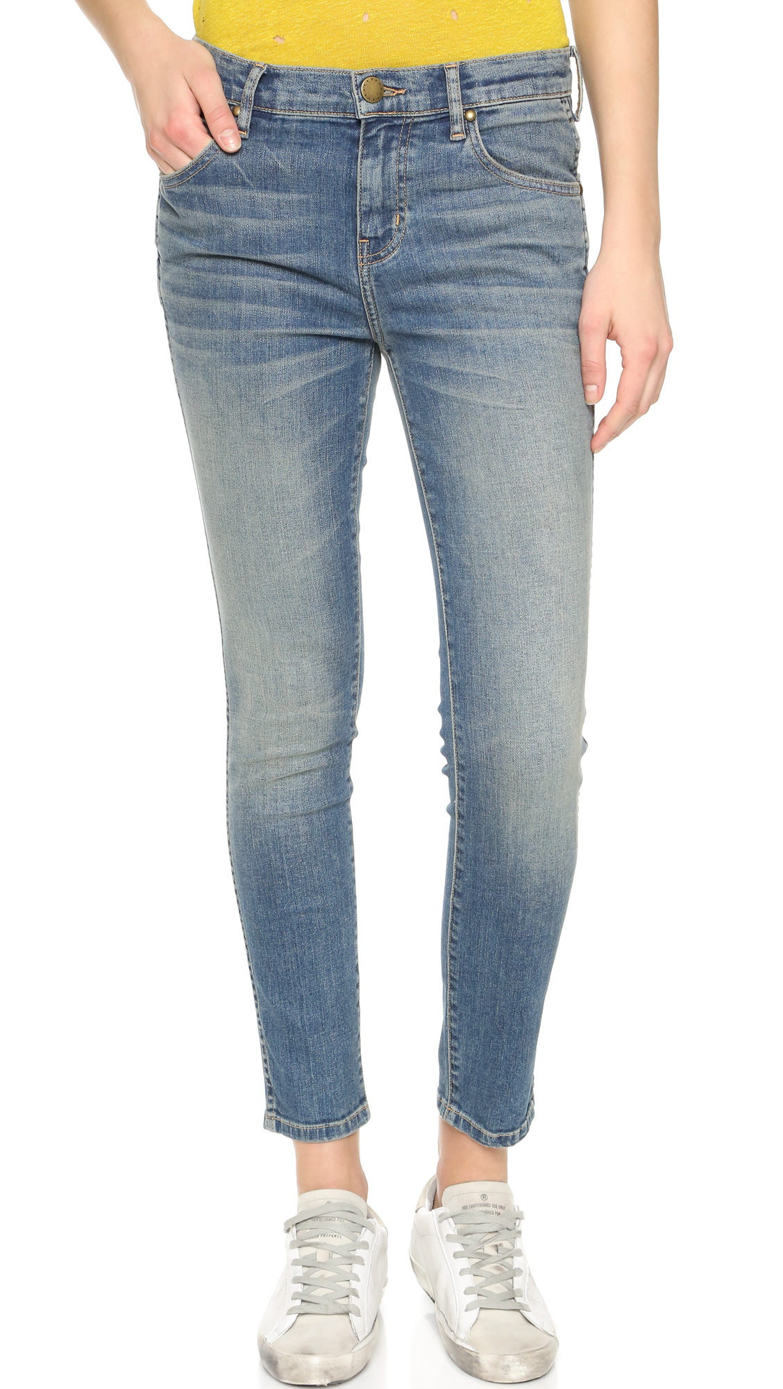 THE GREAT. Almost Skinny Jeans | SHOPBOP