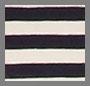 Navy & Cream Striped
