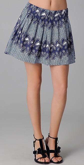 Thakoon Addition Pleated Skirt