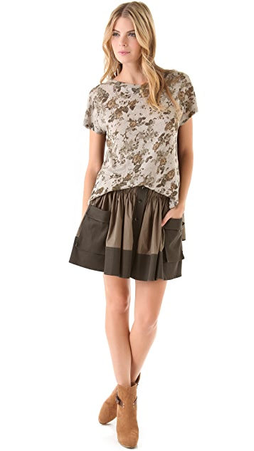 Thakoon Addition Utility Pocket Skirt