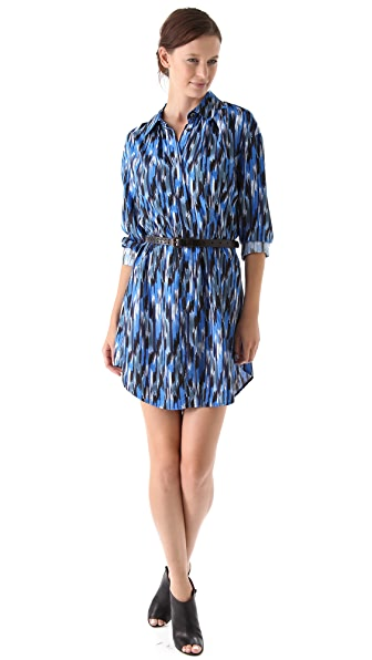 Thakoon Addition Seamed Shirtdress