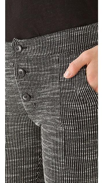 Thakoon Addition Ponti Slim Pants