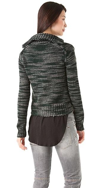 Thakoon Addition Knit Zip Cardigan