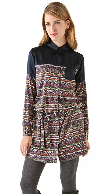 Thakoon Addition Hidden Pocket Shirtdress
