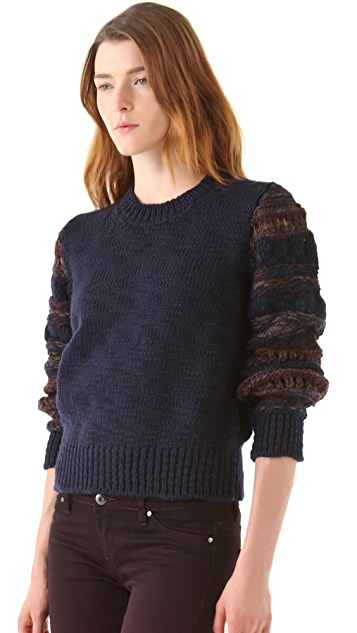 Thakoon Addition Stripe Knit Pullover