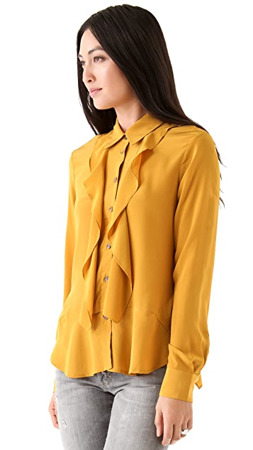 Thakoon Addition Ruffle Blouse