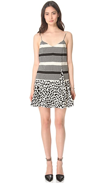 Thakoon Addition Angry Leopard Dress