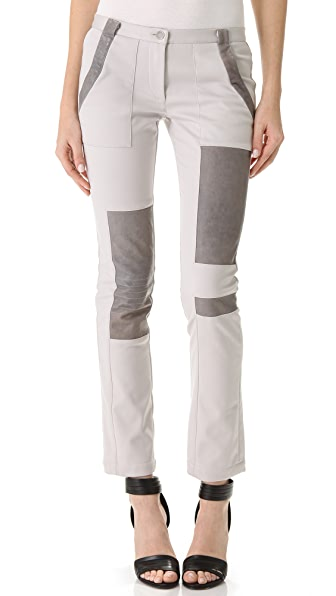 Thakoon Addition Patchwork Combo Pants