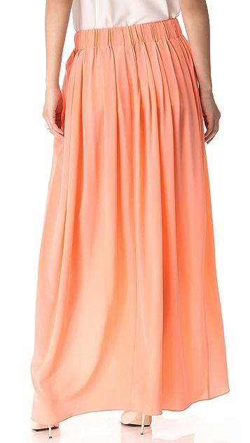 Thakoon Addition Slit Front Maxi Skirt