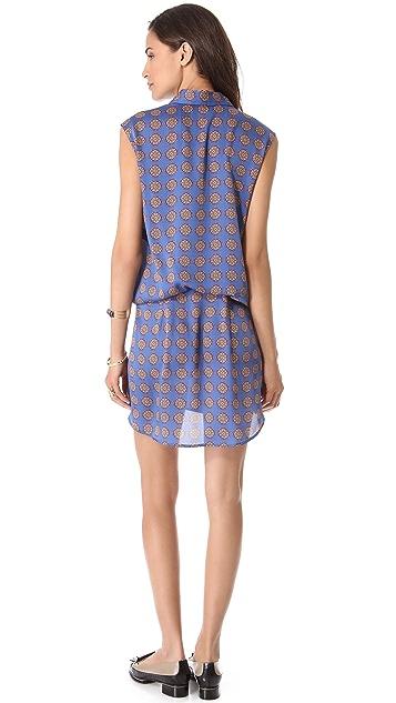 Thakoon Addition Foulard Print Shirtdress