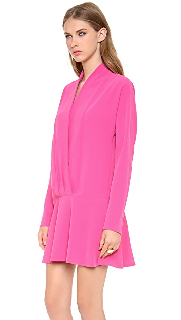 Thakoon Addition Shawl Collar Dress