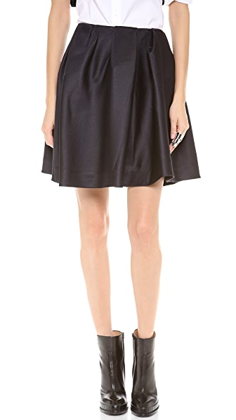 Thakoon Addition Front Gathered Full Skirt