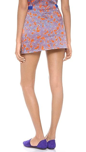 Thakoon Addition Front Panel Skirt