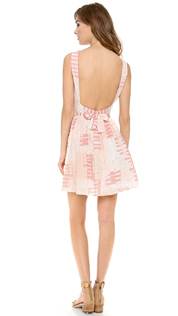 Thakoon Addition Backless Flared Dress