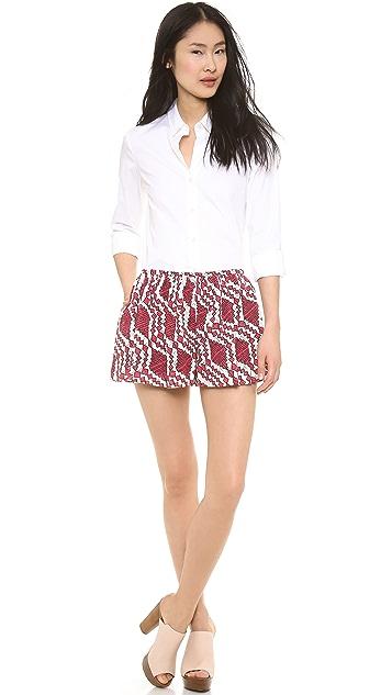 Thakoon Addition Printed Full Shorts