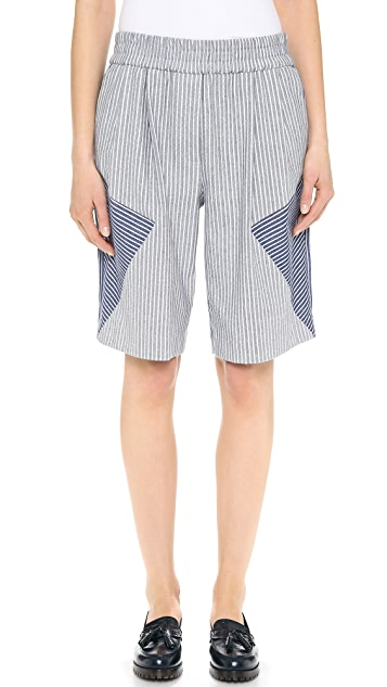 Thakoon Addition Knee Length Track Shorts