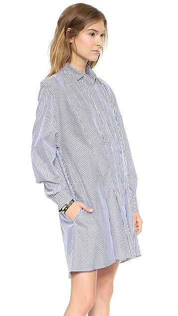 Thakoon Addition Tuck Front Shirtdress